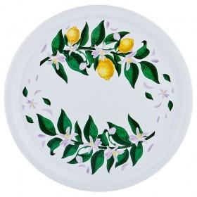 913-121 Поднос сервир.Лимоны 40см