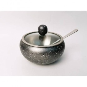 Сахарница с ложкой нержавеющая сталь с покрытием Winner WR-4058 460 мл