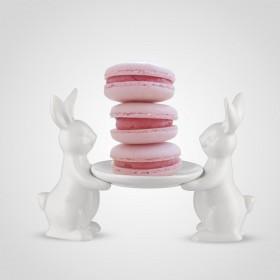 А1905018 Конфетница с кроликами