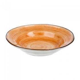 Тарелка глубокая фарфор PL Proff Cuisine ORGANIC FUSION 73024326 350 мл/23 см