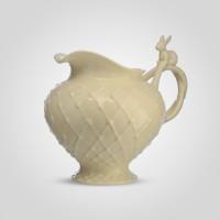 Молочник с Кроликом фарфор Грин Кантри YU290KB31-6 бежевый 13,8 х 11,5 х 12,6 см