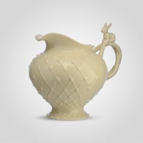 Молочник с Кроликом фарфор YU290KB31-6 бежевый 13,8 х 11,5 х 12,6 см