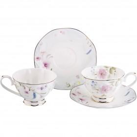Чайный набор фарфор Lefard 264-792 на 2 персоны 4 предмета