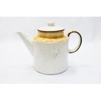 Чайник фарфор P.L. Proff Cuisine ORGANIC 73024315 белый декорированный 1 л