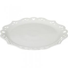 Блюдо фарфор Lefard 163-334 белое 35,5 х 35,5 х 2,5 см