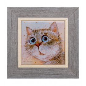Керамика_в_багете_Любимый_котик