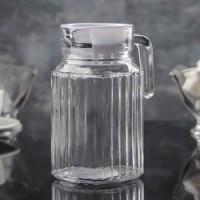 Кувшин с крышкой пластик стекло Pasabahce Фаворит 862749 500 мл
