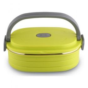 Термоконтейнер для хранения продуктов Bekker ВК-4360 пластик нержавеющая сталь зеленый 0,9 л