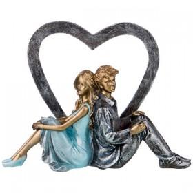 162-706 Статуэтка Влюбленные 16,5см
