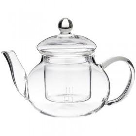 Чайник заварочный  стекло Agness 891-032 ситечко 0,6 л