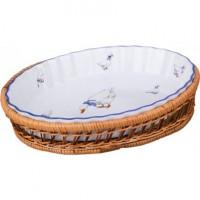Блюдо для запекания керамика Lefard 792-008 овальное 30*23 см