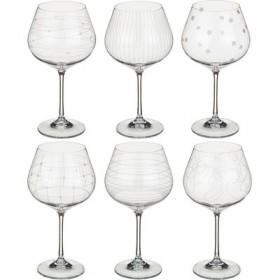 674-418 Бокалы д/вина 6шт/570мл Виола