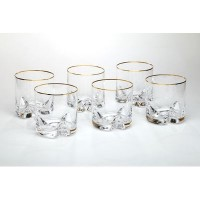 Набор стаканов для воды виски стекло Bohemia Трио 674-133 6 шт 410 мл
