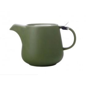 Чайник заварочный нержавеющая сталь фарфор Maxwell & Williams Tint оливковый MW580-AY0420 0,6 мл