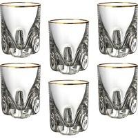 Набор стопок для крепких спиртных напитков стекло Crystalite Bohemia Трио 674-165 6 шт 60 мл