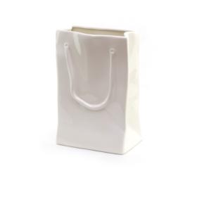 Ваза для искусственных цветов керамика 18-2345 сумка 25см