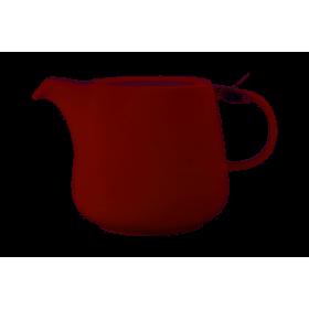 Чайник заварочный нержавеющая сталь фарфор Maxwell & Williams Tint бордо MW580-AY0419 0,6 мл