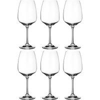 Набор бокалов для вина стекло Bohemia Crystal GISELLE 674-632 6 шт / 560 мл
