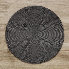45803-CZA-F38 Персонник черный 38*38