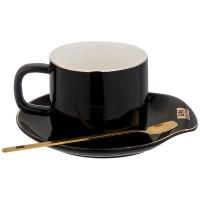 90-1013 Чайный набор 220мл 3пр/1п черн.