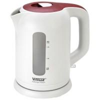 Чайник электрический пластик VITESSE VS-147 белый 1,7 л