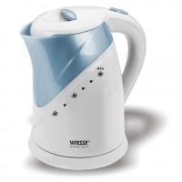 Чайник электрический пластик VITESSE VS-137 белый 1,7 л