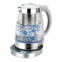 Чайник электрический нержавеющая сталь стекло VITESSE VS-152 5 режимов 1,7 л