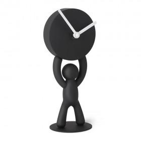 Часы настольные черные Umbra 118510-040