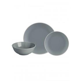2001.897 Набор обед.посуды 12пр.серый