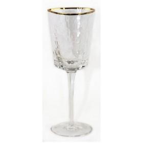 222-115 Бокал д/вина золото 23см