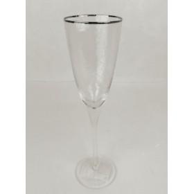 222-120 Бокал д/шампанского золото 26см