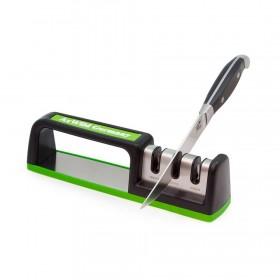 Точилка для ножей AXWILD 3300484 трёхзонная настольная салатовая