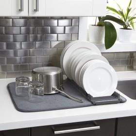 330720-1220 Коврик для сушки посуды светло - серый