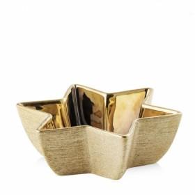 35731-ZLO Блюдо декорированное золотое