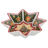 Салатник фарфор LEFARD CHRISTMAS 586-131 новогодний 17 см